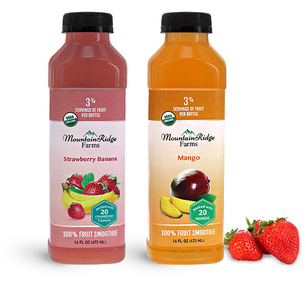 Juice Bottles, Plastic Fruit Smoothie Bottles