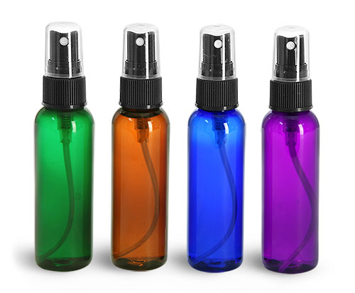 PET Plastic Aromatherapy Spray Bottles