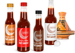 Plastic Hot Sauce Bottles