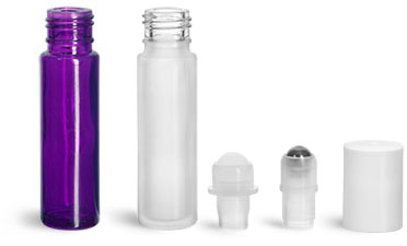 Bulk Purchasing of Plastic or Glass Roll-On Bottles