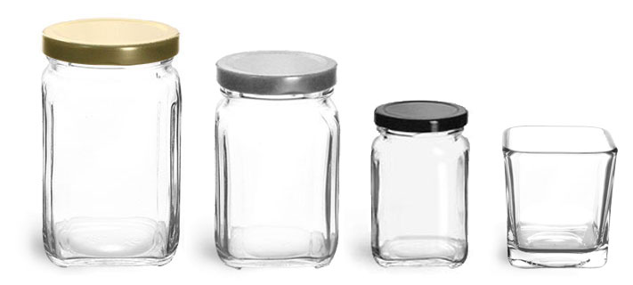 Product Spotlight - Square Jars