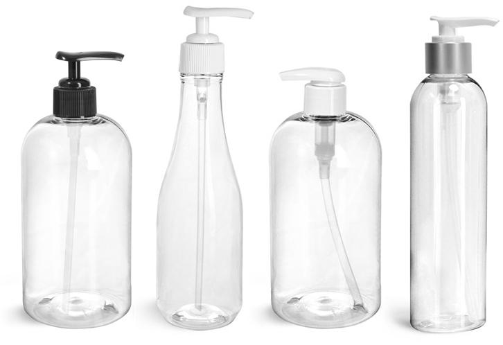 Plastic Bubble Bath Bottles