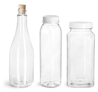 Plastic Bottles & Plastic Jars for Bath Salt Containers