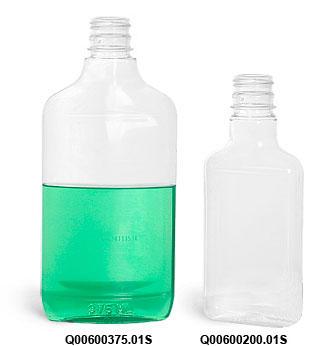 Clear PET Flasks