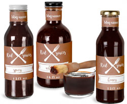 Restaurant Barbecue Sauce Bottles
