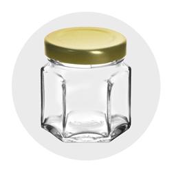 Sample Size Glass Jars