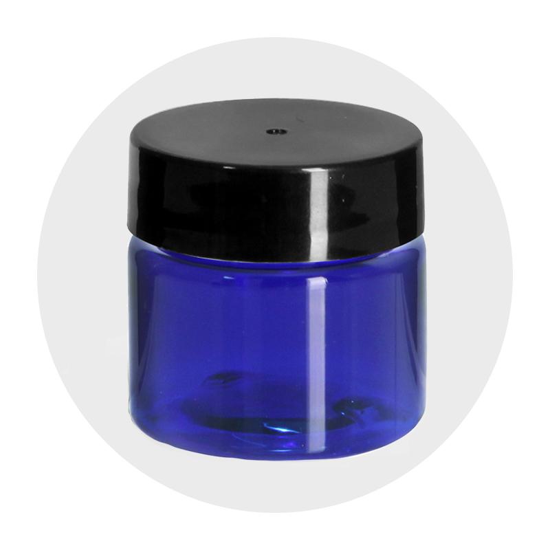 Sample Size Plastic Jars