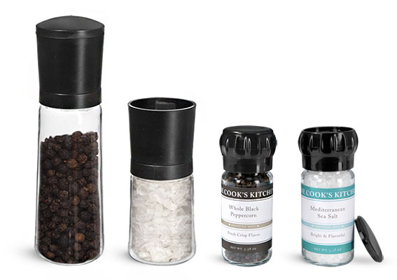 Product Spotlight - Spice Bottles with Spice Grinder Caps
