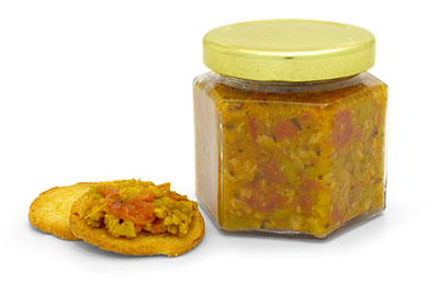 Tapenade Canning Jars