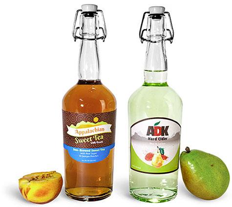 Glass Hard Cider Bottles