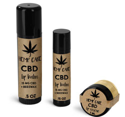 Plastic CBD Lip Care Containers