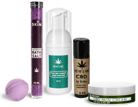 CBD Topical Containers