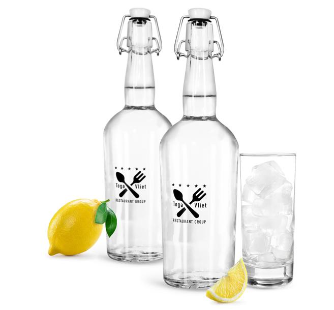 Swing Top Infused Water Bottles
