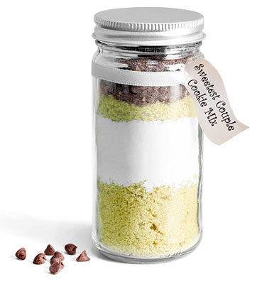Clear Glass Paragon Jar Wedding Favor Ideas