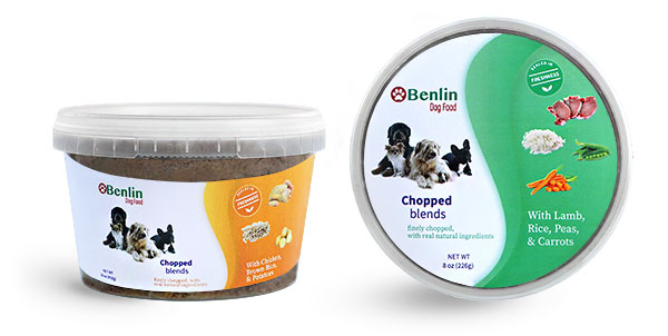 Wet Dog Food Containers