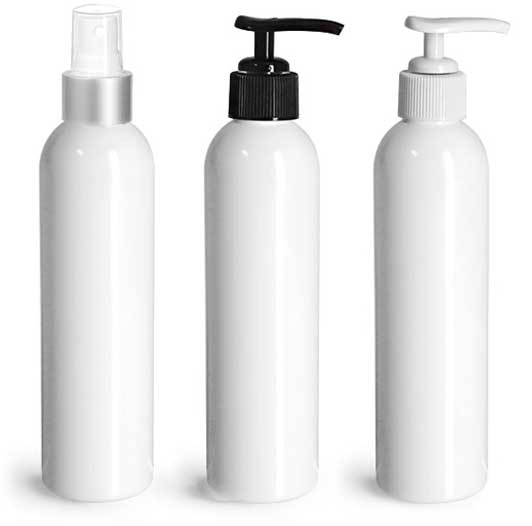 Product Spotlight - White Plastic Jars & Bottles