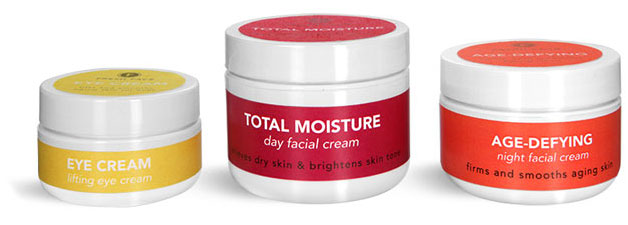 Double Wall Facial Cream Jars