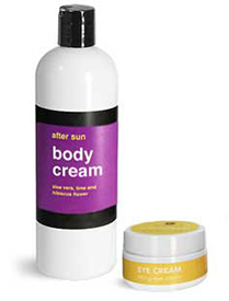 White Body Care Packaging