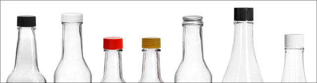 Woozy Bottles for Food Products