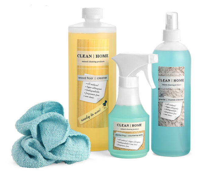 All-Purpose Cleaning Containers