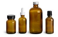 Amber Glass Bottles Promo