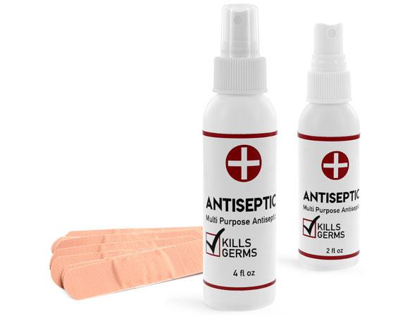 OTC Pharmaceutical Bottles, Antiseptic Spray Bottles