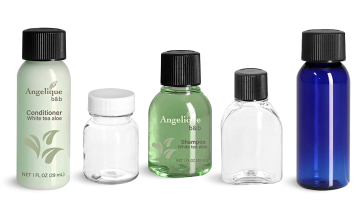 Product Spotlight - Plastic Bathroom Toiletry Bottles