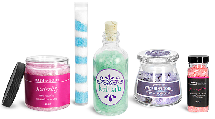 Top 5 Bath Salt Containers