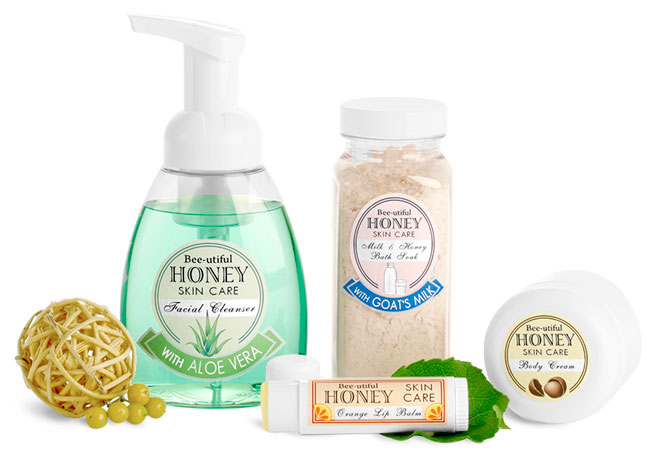 Beeswax & Honey Skincare Containers