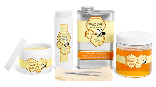 Honey & Beeswax Product Containers
