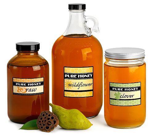 Bulk Glass Honey Jars & Bottles