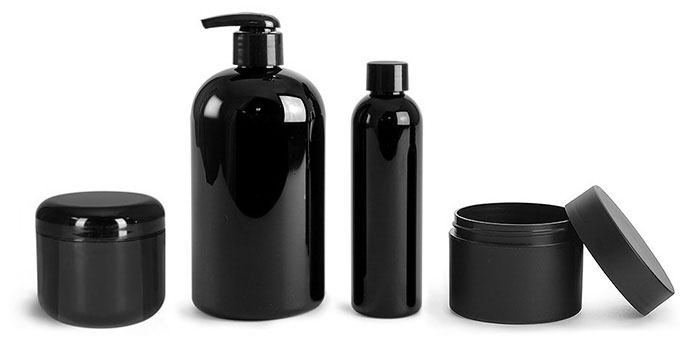 Product Spotlight - Black Plastic Containers