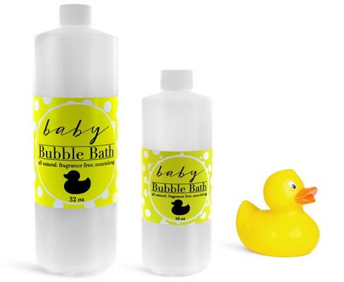 Baby Bubble Bath Bottles
