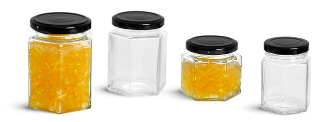 Glass Hex Jars To Organize Your Kitchen