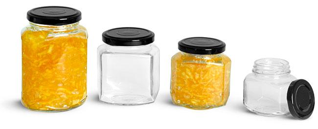 Marmalade Canning Jars