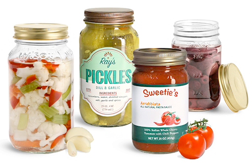 Glass Canning Jars