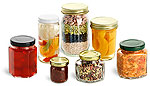 Glass Canning & Food Jars