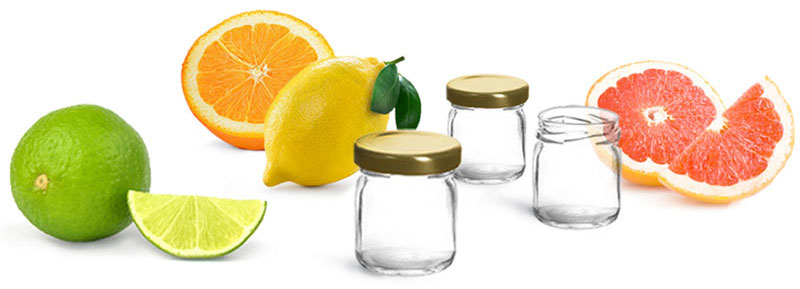 DIY - Citrus Salts in Glass Jelly Jars