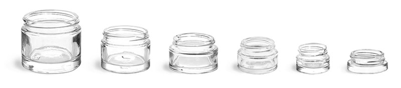 Product Spotlight - Clear Glass Cosmetic Jars