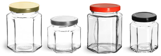 Product Spotlight - Clear Glass Jelly Jars