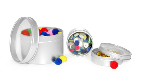 Metal Tins To Organize Your Hobby and Craft Supplies