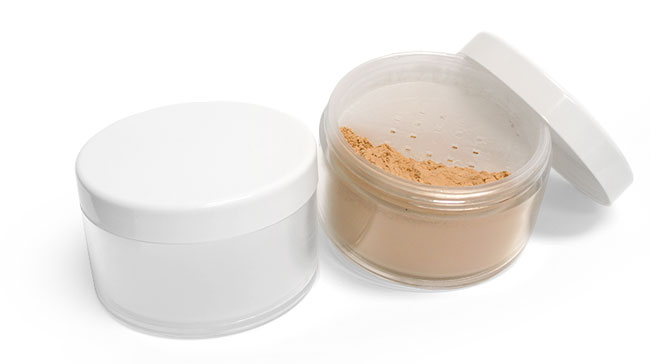 3 oz Powder Sifter Containers