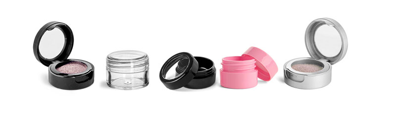 Plastic Cosmetic Jars