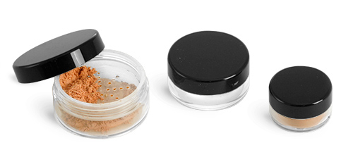 Polystyrene Cosmetic Jars