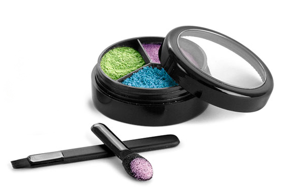 Plastic Eyeshadow Jars