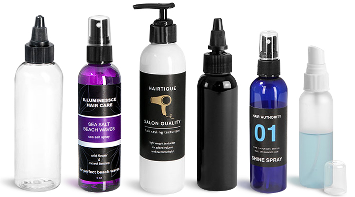 Cosmo Round Bottles for Hair Care Products