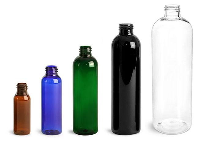 PET Cosmo Round Bottles
