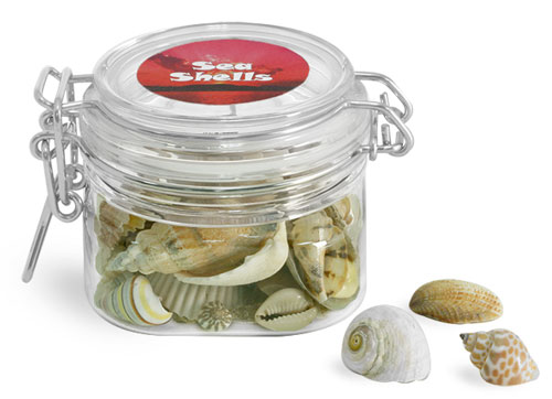 PET Wire Bale Jars To Organize Your Hobby and Craft Supplies
