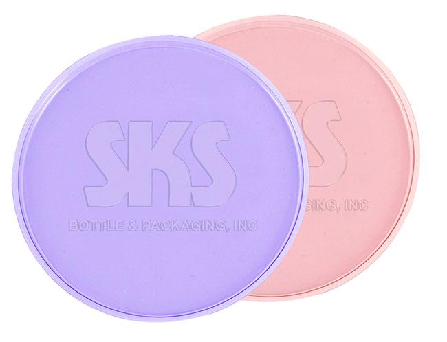 Debossed PETG Disc Liners for Jars