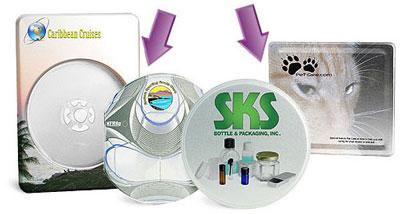 Custom Printed CD /  DVD Tins